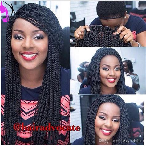 lace front african mirco braided wigs stock hand tied micro braided lace front wigs for african