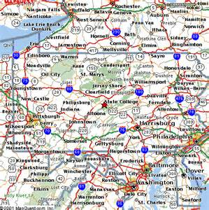 Map Of State College Pa by 4th Lisa Symposium Travel Guide