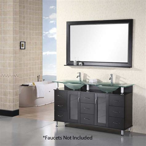 design element bathroom vanities design element 61 quot huntington sink bathroom vanity