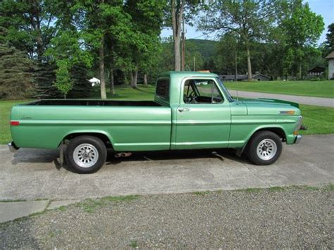 72 ford f100 sell used 72 ford f100 custom 2wd in pennsylvania