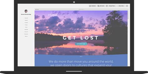 beautiful website travel agency marketing website builder platform atlas
