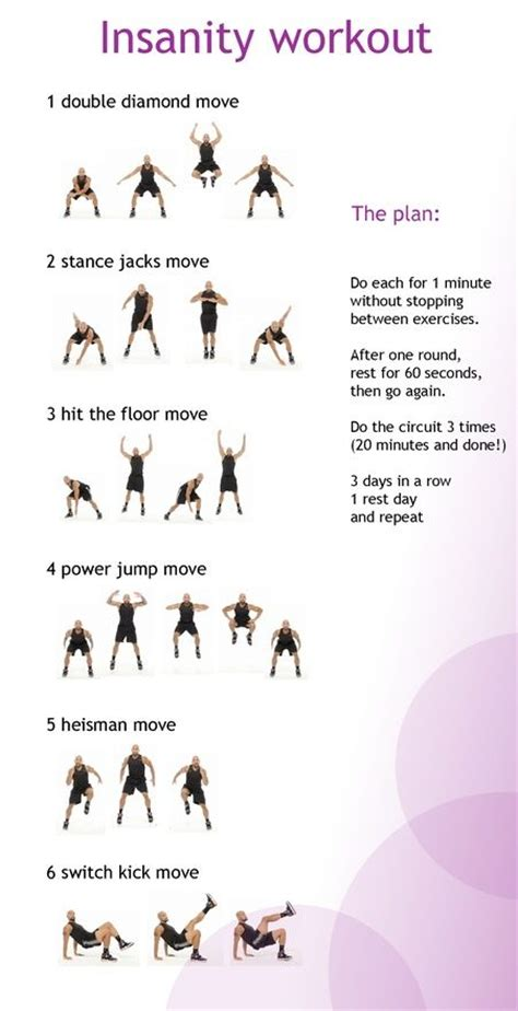 insanity workout made simple at home workouts