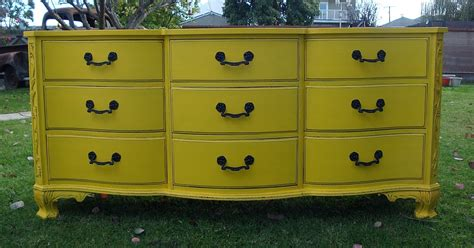 nagevoce eco finished furniture yellow collection