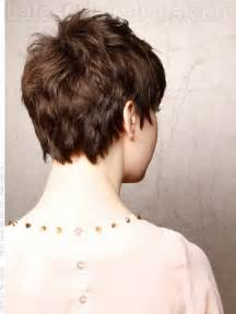 back of pixie hairstyle photos tapered haircuts for women over 50 back short hairstyle 2013