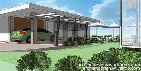 garage roof design archian designs architects in bacolod iloilo cebu davao the philippines