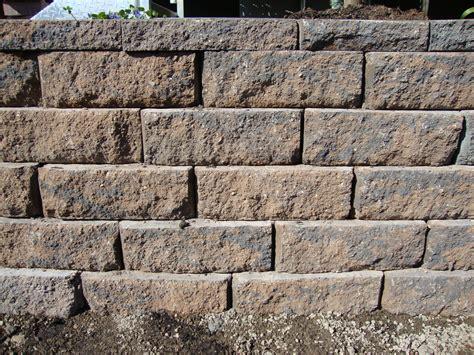 retaining wall blocks portland rock and landscape supply