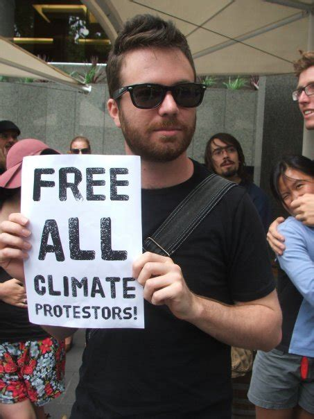 consolato danese australian climate activist detained three weeks in