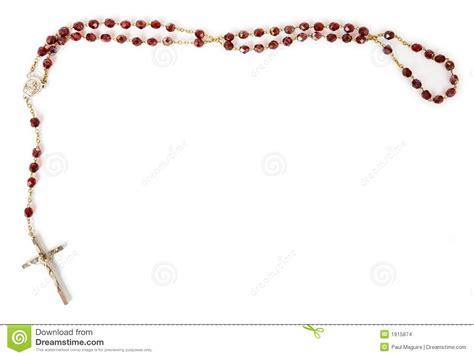 white rosary rosary isolated on white stock photo image of