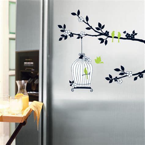 Birdcage Wall Stickers ku kafes a a 231 sticker