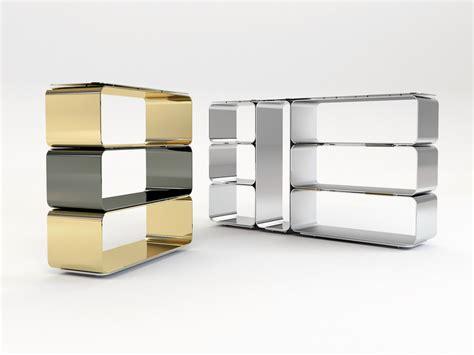 librerie alluminio libreria a giorno componibile modulare in alluminio