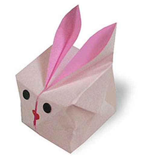 Origami Balloon Bunny - origami balloon rabbi