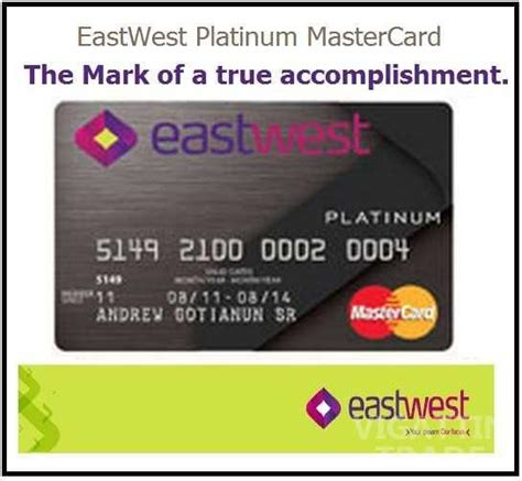 Credit Card Application Form Eastwest Eastwest Bank Credit Card Apply Here For Free Assistance Vigattin Trade