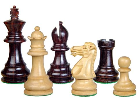 chess set pieces wood chess set pieces monarch staunton king size 3