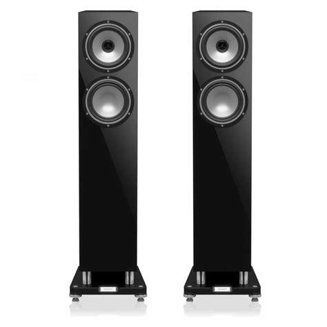 tannoy revolution xt  gloss black foorstanding speakers
