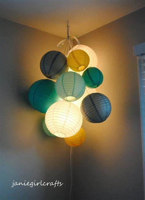 A Paper Lantern - 11 diy projects to make paper lanterns pretty designs