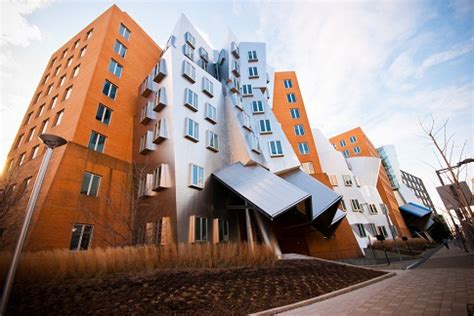 Mirror Columns by The Ray And Maria Stata Center By Frank Gehry In