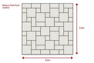 Patio Slabs Design Ideas Easypave Ultrapave Moorstone Paving Stones Premium