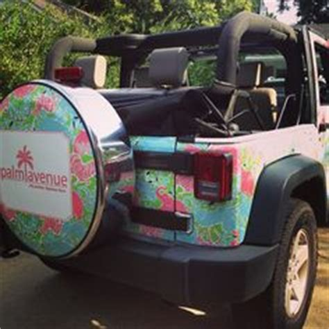 Girly Jeep Tire Covers 1000 Images About Lilly Pulitzer Jeeps On