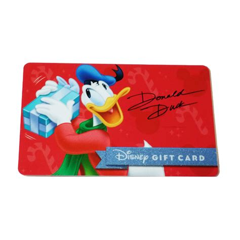 Disney Gift Card Promotion - your wdw store disney collectible gift card 2015 holiday promo donald duck gift