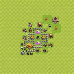 Make Plans clash of clans base plan layout for trophies town hall