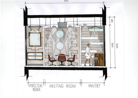 Meeting Room Layout design for designer office by muhamad amirudin at coroflot com