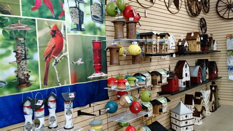 birdhouses and birding supplies