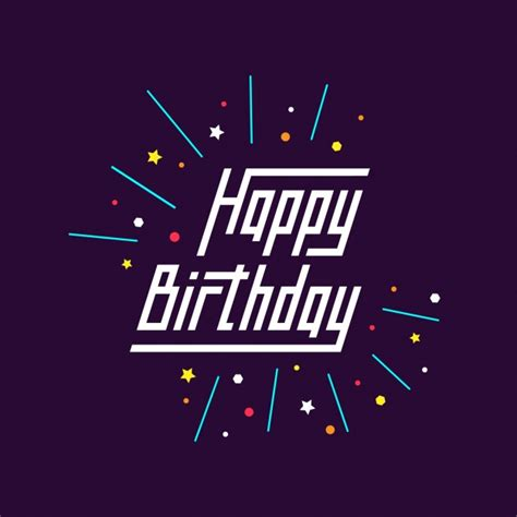 happy birthday design ai happy birthday background vector free download