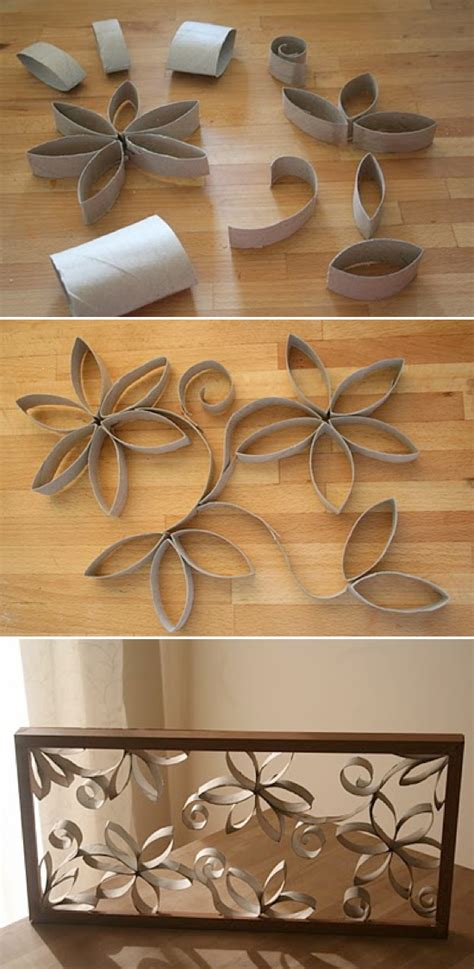 Paper Roll Craft Ideas - toilet paper roll crafts kubby