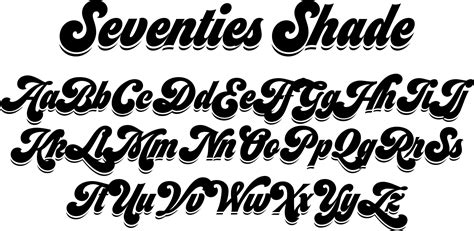 typography 70s 70s font style search calligraphie