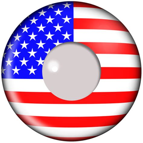american flag contacts | camoeyes.com