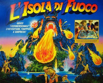 gioco da tavola brivido i favolosi anni 80 mb un brivido sull isola di fuoco