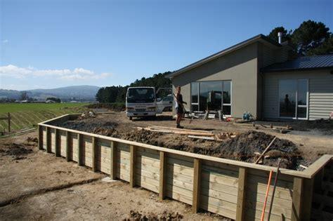 Garden Wall New Zealand Timber Retaining Wall New Zealand P Wall Decal