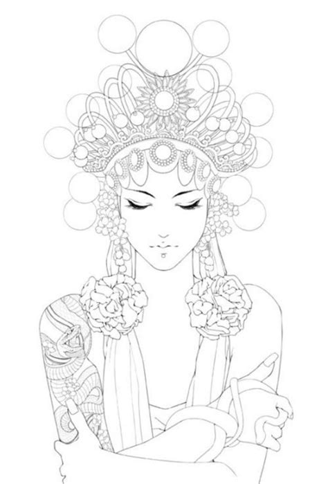 inky lifestyle 50 anti stress 1530086108 coloring pages to print woman a collection of ideas to try about other coloring flower