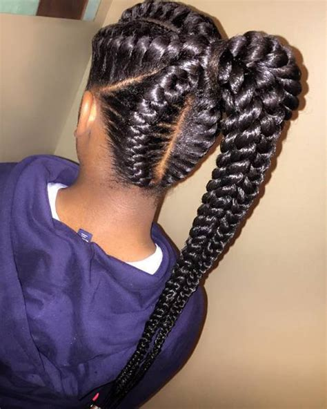 2016 black goddness hair style 2016 inspiring exles of goddess braids for black woman