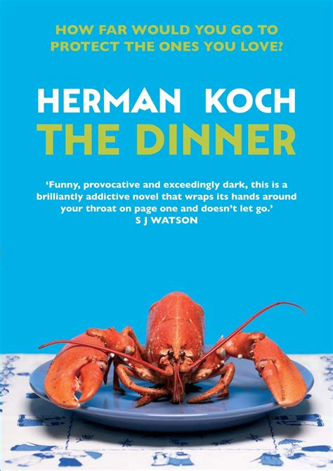 the dinner herman koch the dinner writerlouisewelsh