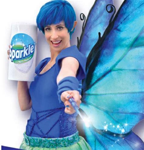 sparkle commercial fairy actress ad sparkle fairy paper towels