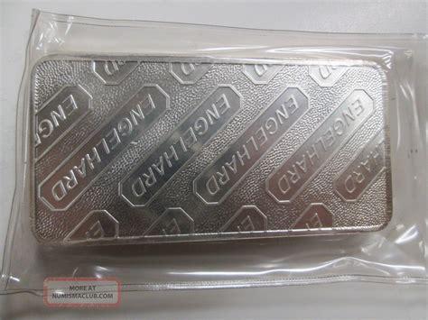 10 Troy Ounce Silver Bar Engelhard - engelhard 10 troy ounce 999 silver bar in plastic