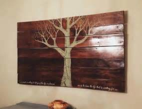 Eco Art Reclaimed Pallet Wood Wall Hanging The