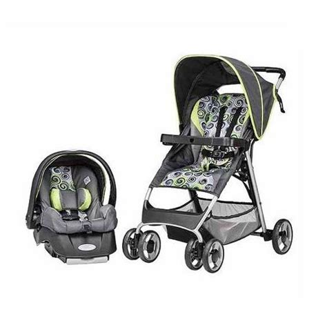 unisex car seats and strollers evenflo smartfold travel system starry nights unisex boy