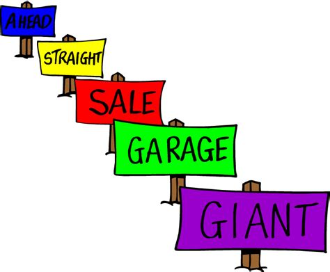 Garage Sale Auction by Free Garage Sale Clip Pictures Clipartix