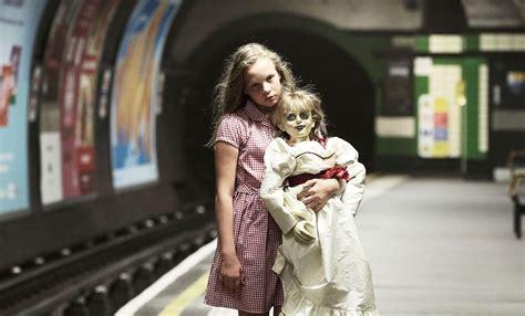 annabelle doll cast in the uk babysit annabelle in an immersive horror