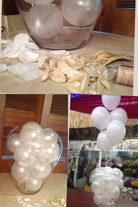 Huge Gl Se Holds Balloons Filled With Money Extra