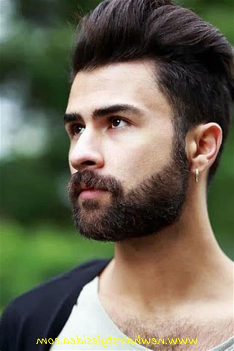 gents hairstyles for round face new hair styles beard for gents hairstyle hits pictures