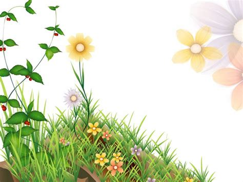 wallpaper flower clipart free flower nature clip art background for powerpoint