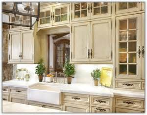 French Kitchen Furniture White French Kitchen Cabinets Home Design Ideas