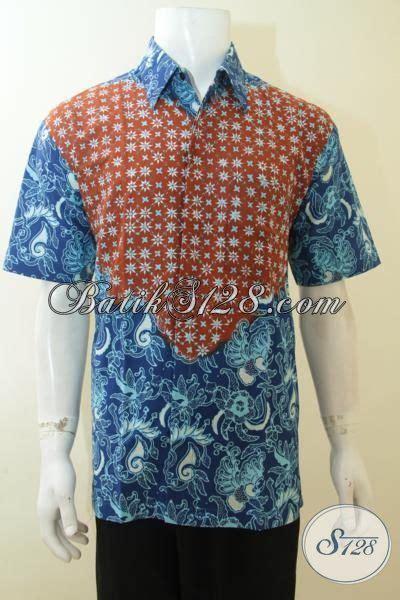 desain baju batik anak muda pakaian batik gaul khas anak muda dengan desain motif dua
