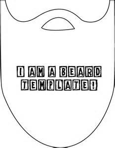 beard template make your own lumberjack beard this is lumberjack