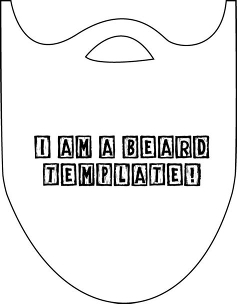 How To Make A Paper Beard - make your own lumberjack beard this is lumberjack