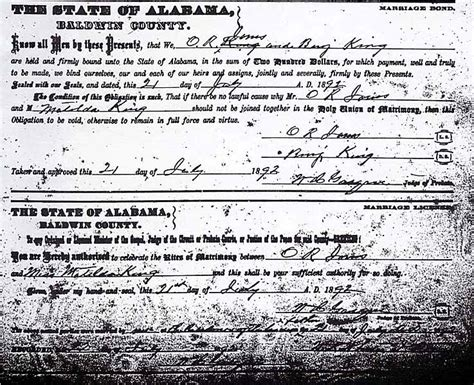 Al Marriage Records The Usgenweb Archives Project Baldwin County Alabama