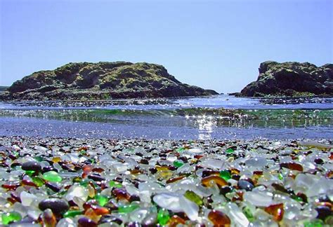 glass beaches tourism glass beach